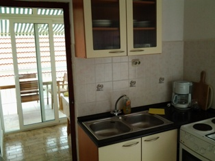 Rogoznica - kitchen of apartment B